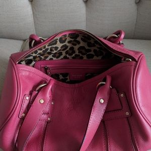 Pink and Red Small Kate Spade Satchel